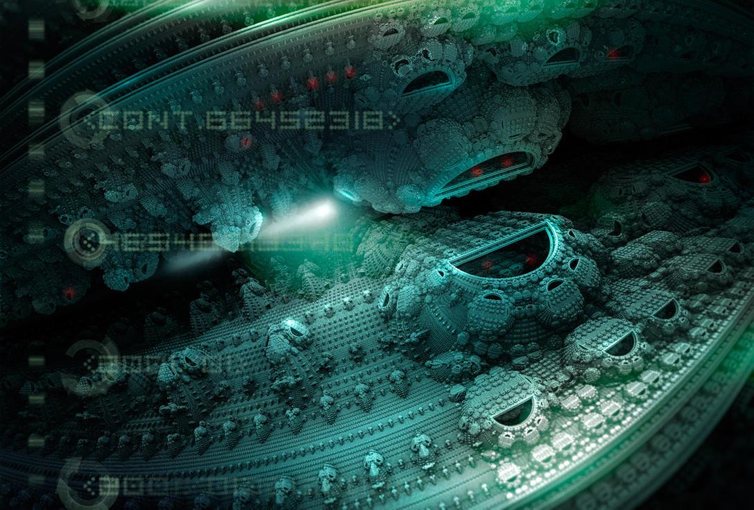 Alien Station-f72 by fragmentNull