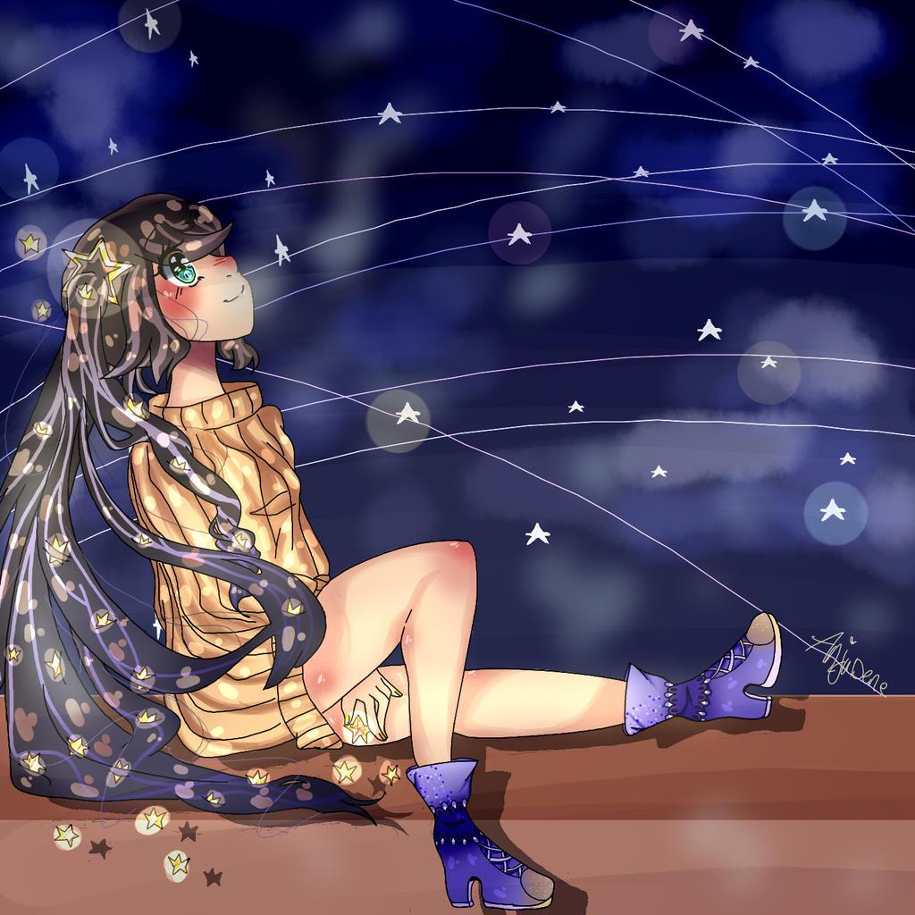 Starry Sky! by AnjuDere