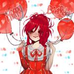 Happy Birthday Lacie ! +(video) by AnjuDere