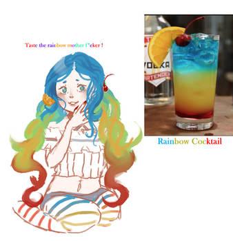 Summer- Rainbow Cocktail!