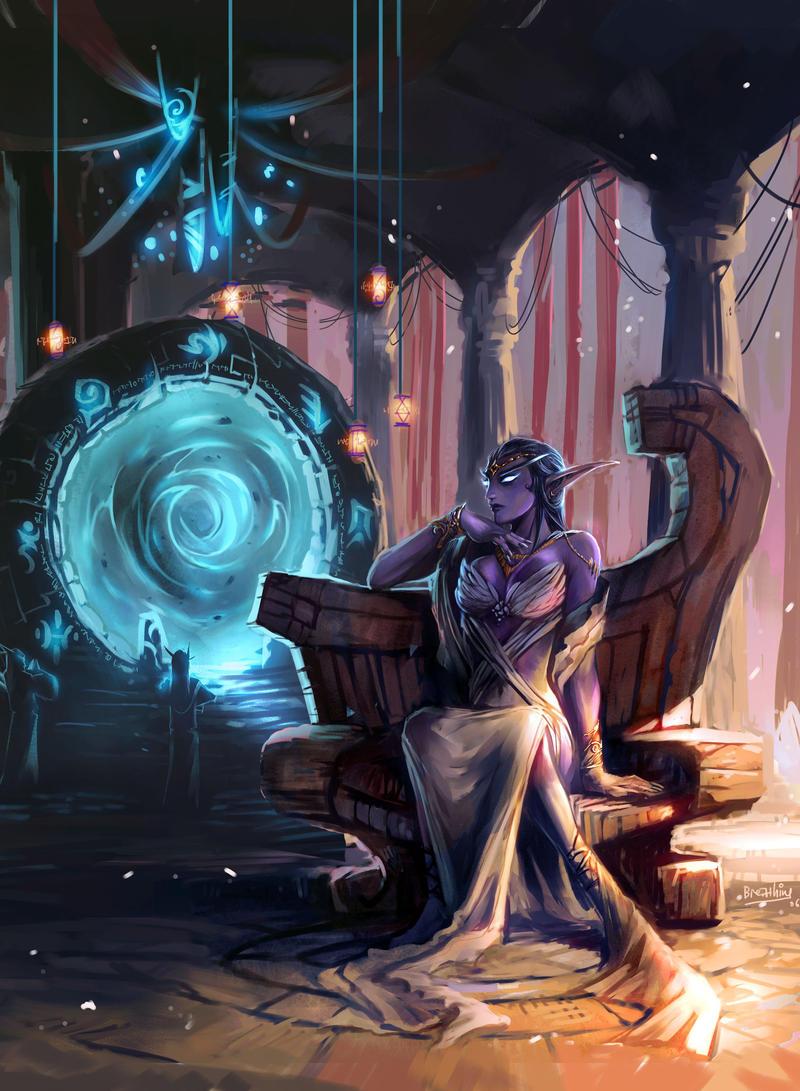 the queen:Azshara