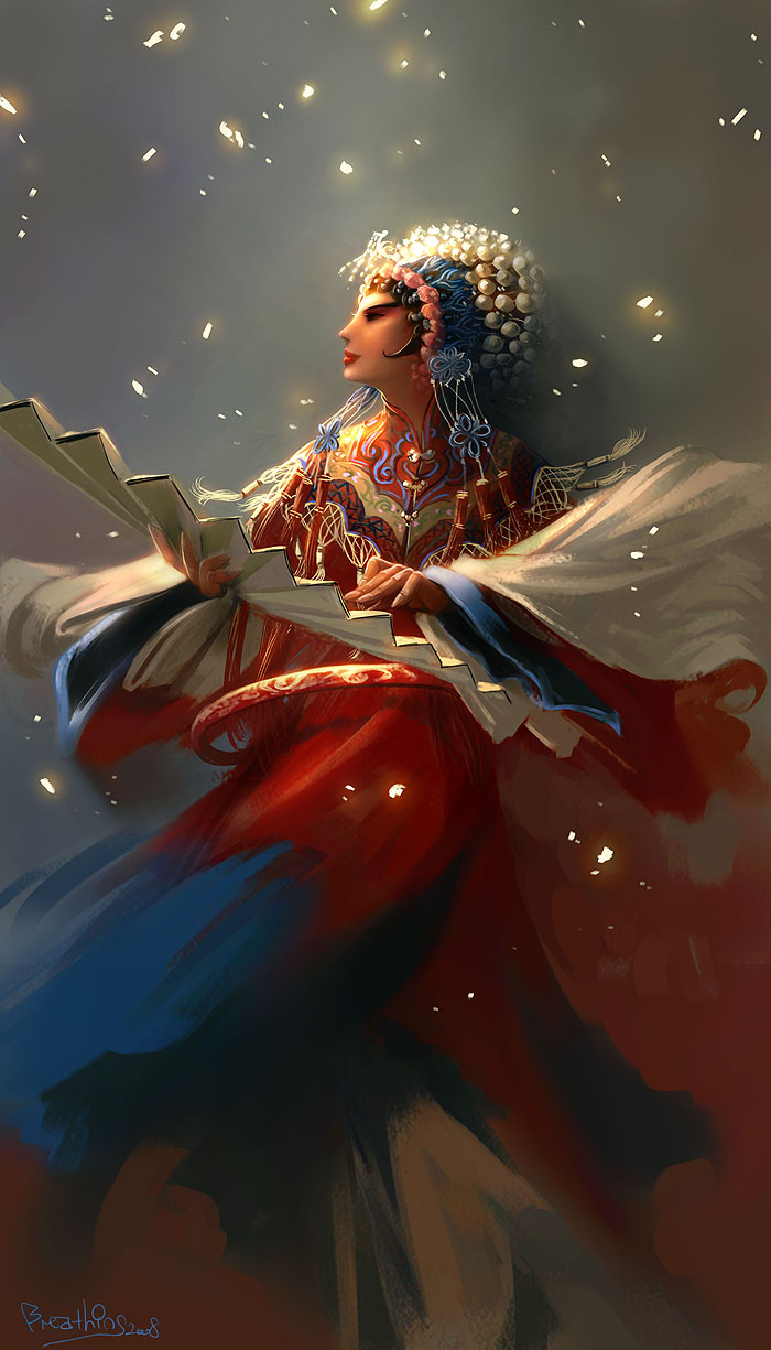 chinese opera by breath-art
