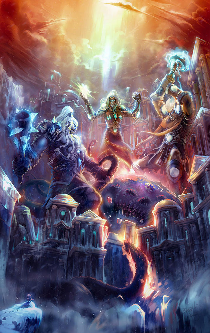 fallen Ulduar by breathing2004