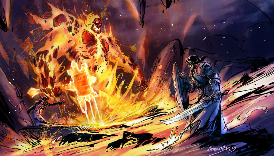 the final battle by breathing2004