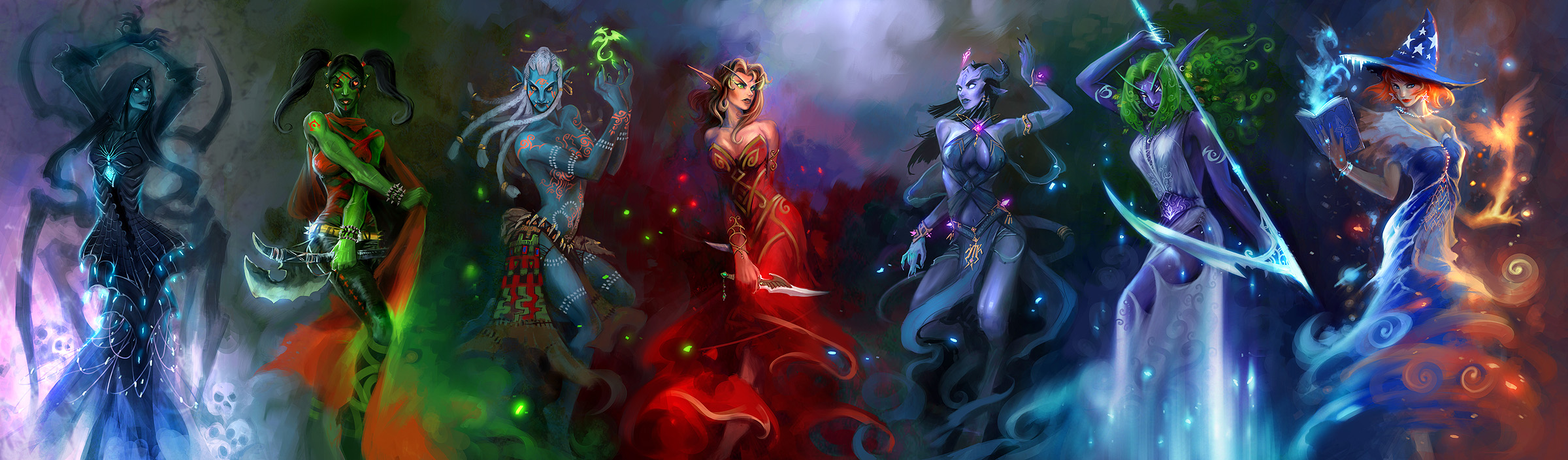World of warcraft poen nigh elf and  nackt image