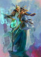 archmage male by breath-art