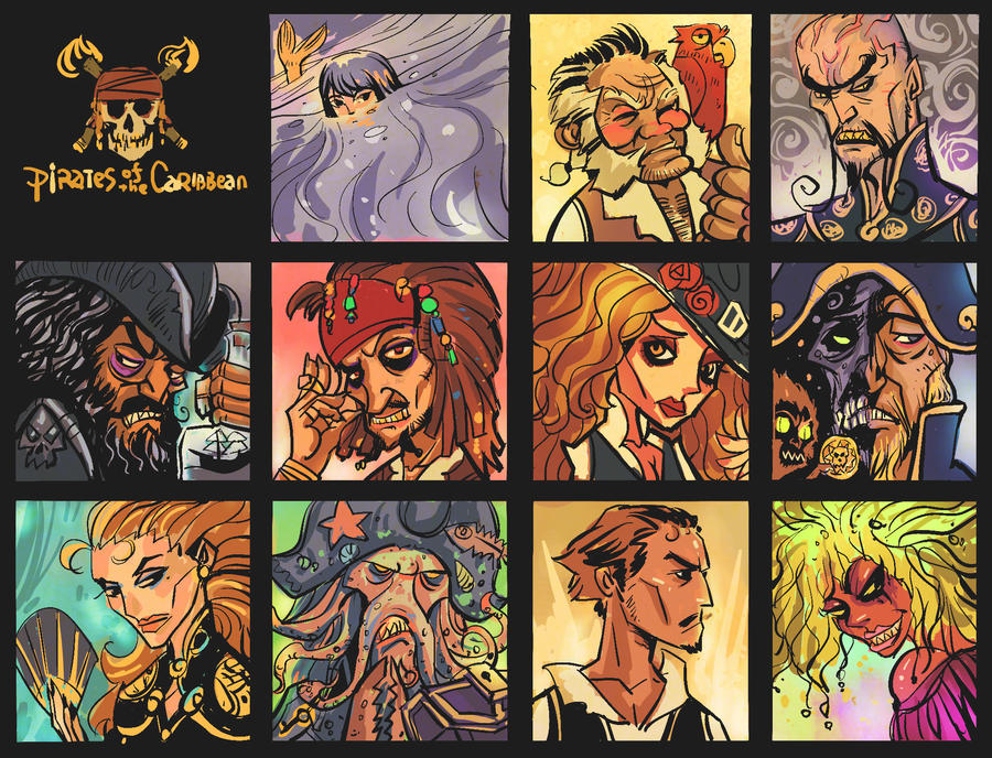 pirates of the caribbean by breathing2004