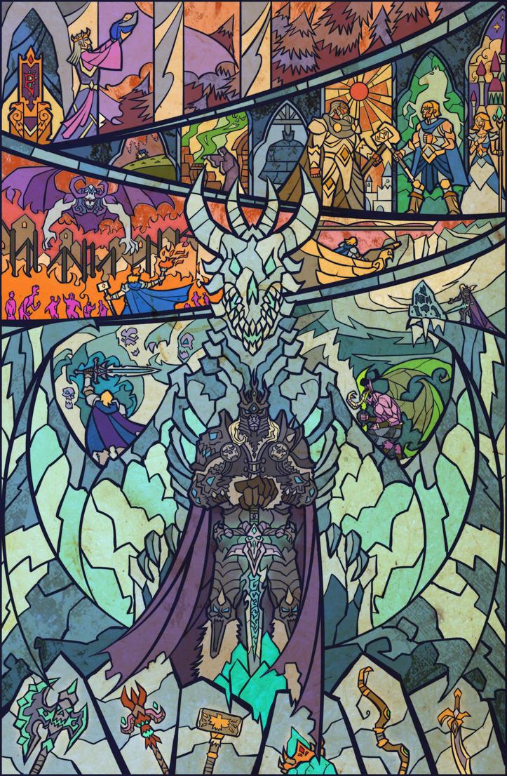 fall of Arthas by breath-art