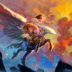 Pegasus by breath-art