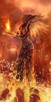 flame druid