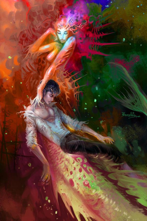 dream of mermaid by breathing2004