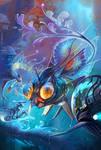 hello Mr.Fish by breath-art