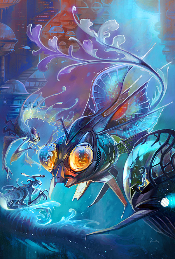 hello Mr.Fish by breathing2004