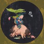 riding piggy