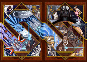 starwars IV:new hope by breath-art