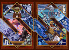 starwars V:the empire strike back by breath-art