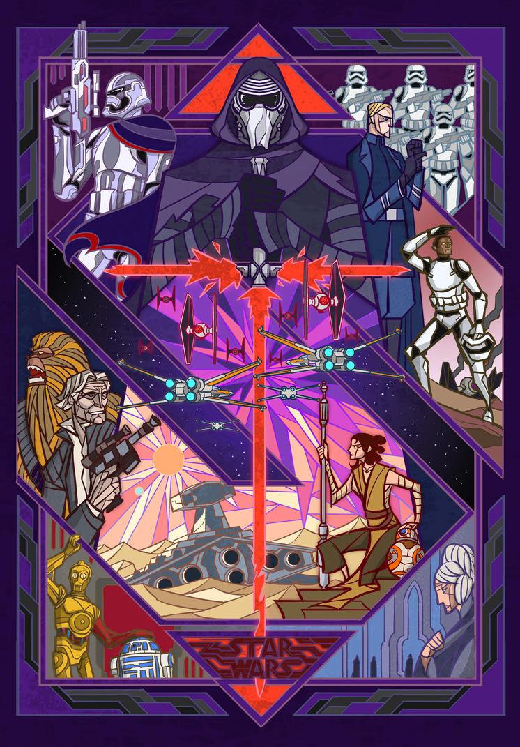 Starwars Vii The Force Awakens By Breath Art On Deviantart