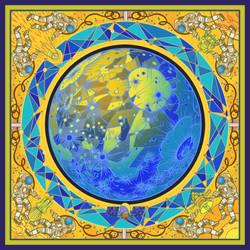 solar system:mercury by breath-art