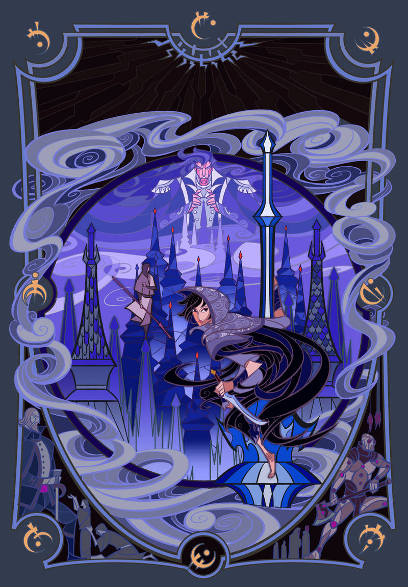 cover of The Final Empire (Mistborn, Book 1) by breath-art