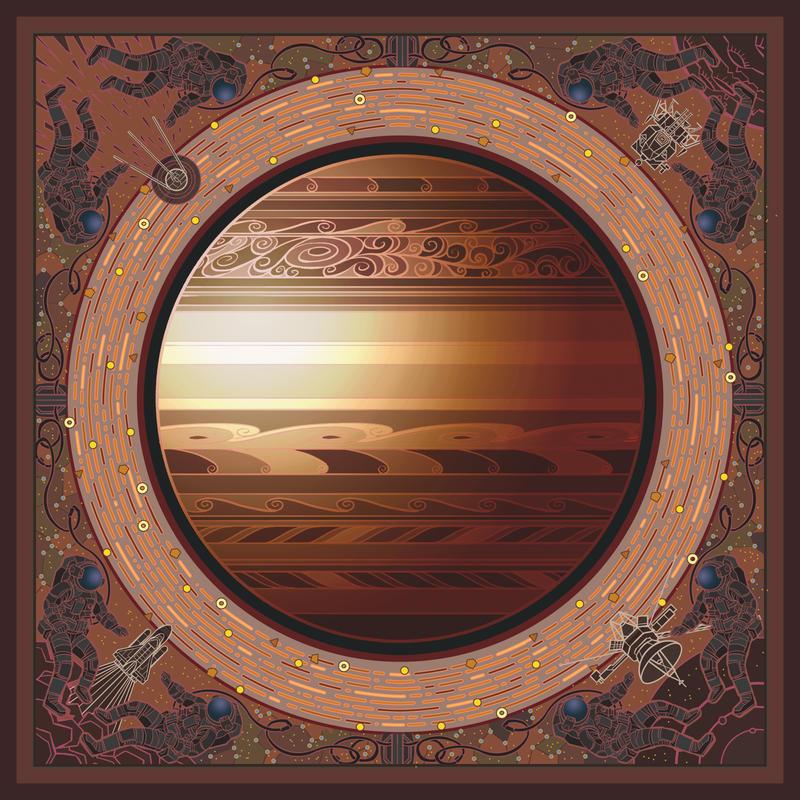 solar system:Saturn by breath-art