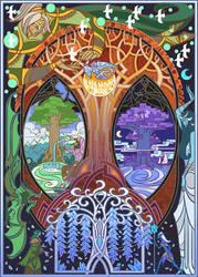 tree of life by breath-art
