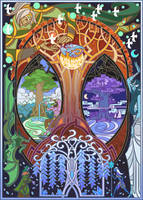 tree of life by breath-art