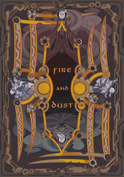 fire and dust by breath-art