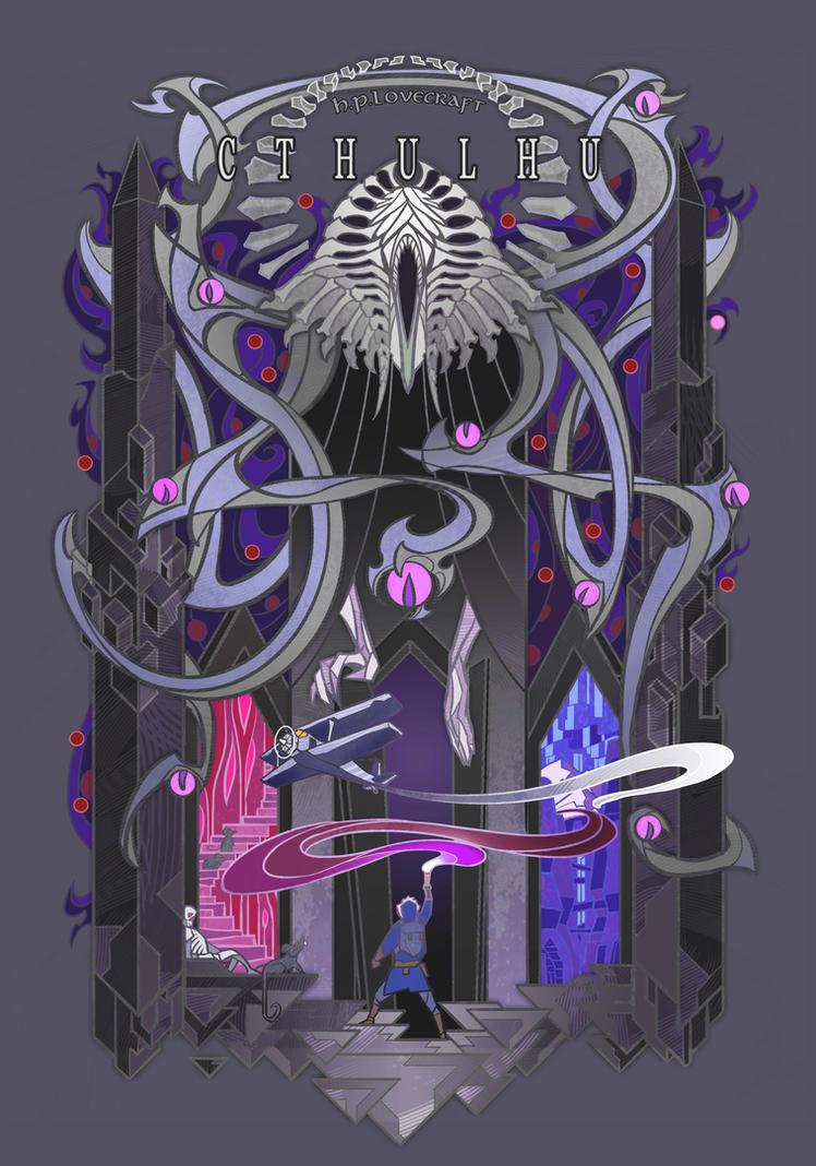 Cthulhu II by breath-art