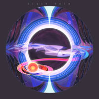 STARS:blackhole by breath-art