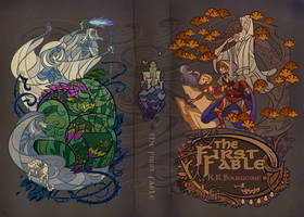 cover for the first fable by breath-art