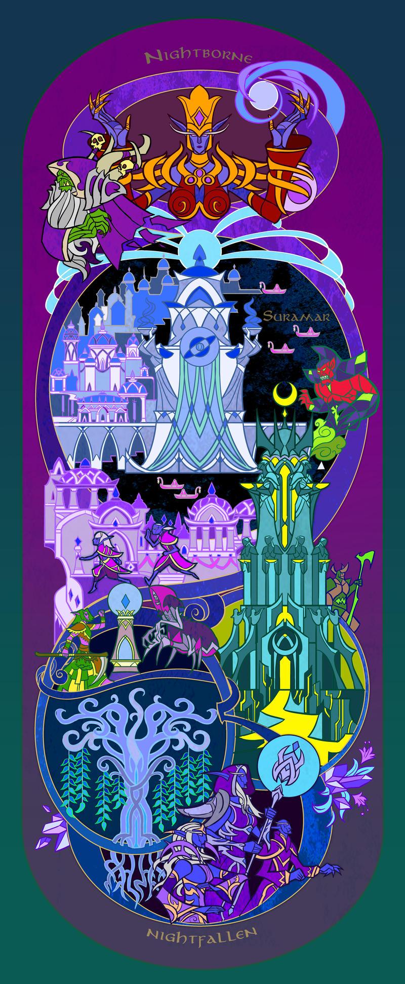 World Of Warcraft By Breath-art On DeviantArt