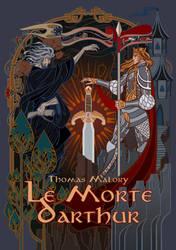 cover for Le Morte d'Arthur by breath-art