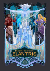 cover for Elantris by breath-art