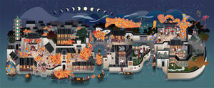 lamp fish festival
