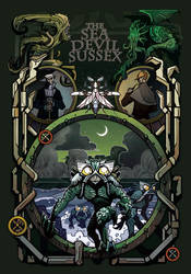 cover art for the sea devil of Sussex
