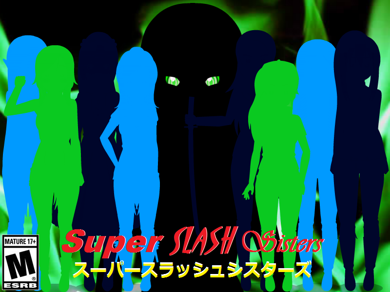 Super Slash Sisters Teaser Poster. by TheArchosaurQueen