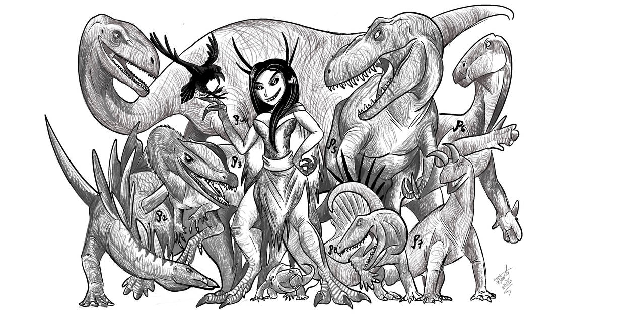 The Archosaur Queen's Dominion.