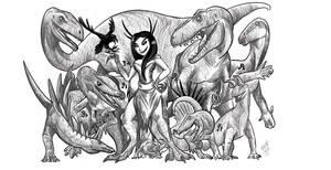 The Archosaur Queen's Dominion.