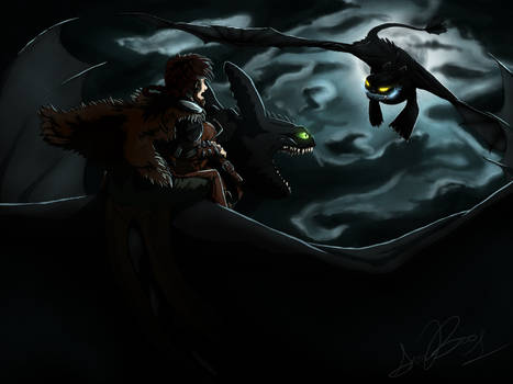 Attack from the Sky ~ HTTYD