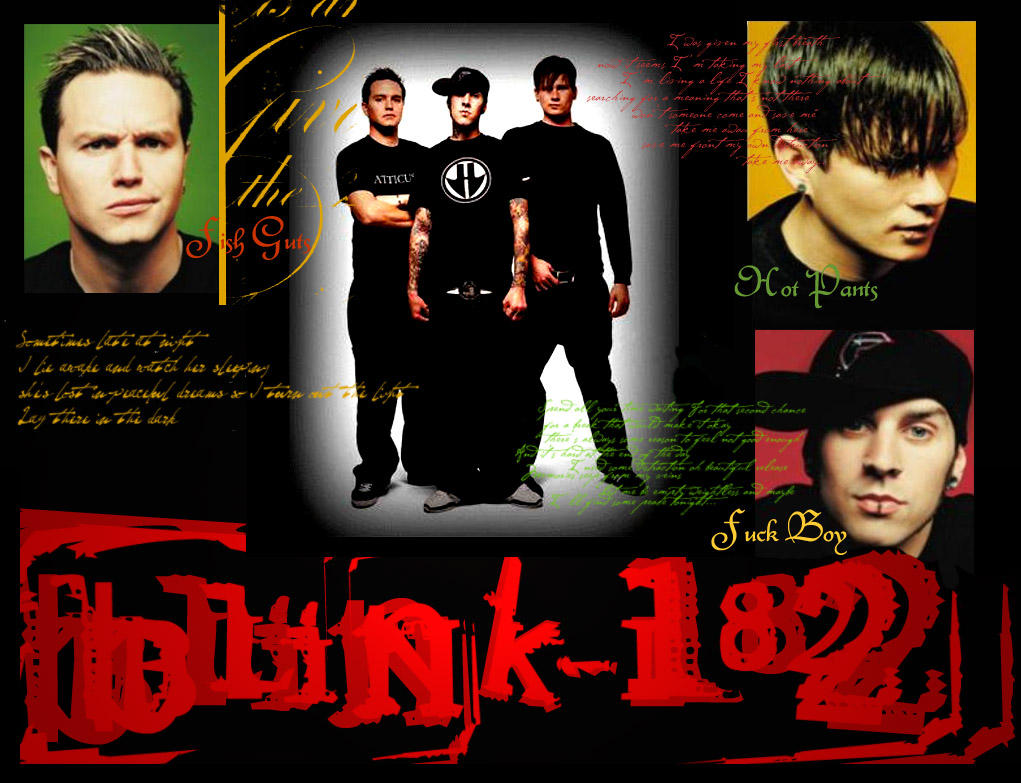 Blink 182 Wallpaper by TUSIOR on DeviantArt