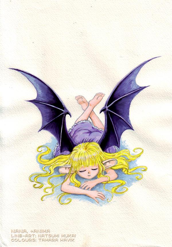 Nana +bat anima by Tamara-Hawk