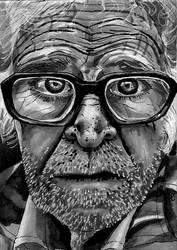 Old man ATC by Tamara-Hawk