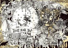 Time For Tea by AureliaX