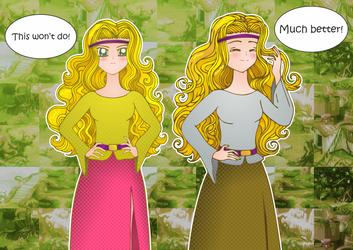 Zanthia's Darkmoor Swamp Outfits