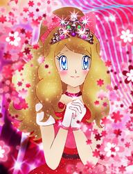 Serena the Kalos Queen by Usalina