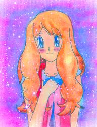 Serena doodle by Usalina