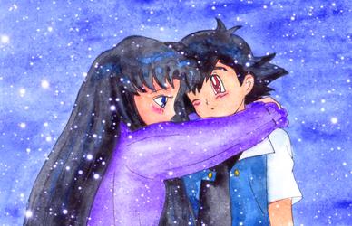 Kurai and Satoshi doodle by Usalina
