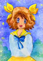 Serena doodle II by Usalina