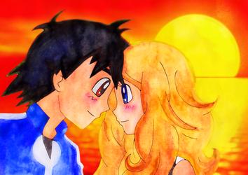 Amourshipping doodle II by Usalina