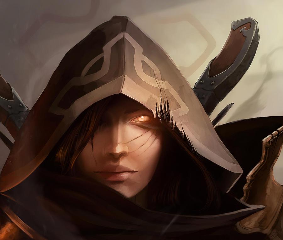 Diablo 3 fan art by canadianxeno